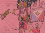 Darna Champion of the People fan art sketch by Wilco5
