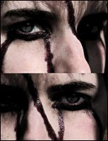 Blood Eyes by PatchworkPearl