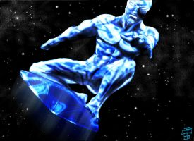 silver surfer by leseraphin
