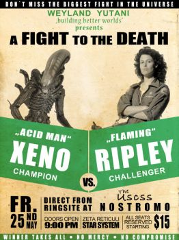The Fight Is On! by Patroner