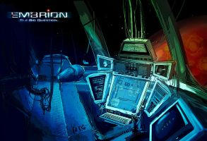 Control room of spaceship by wanmart