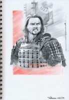 Last Samurai Sketch 01 by RodGallery