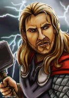 Thor by Greykitty