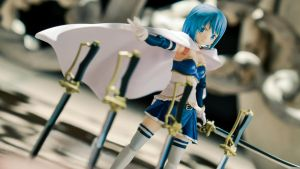 Sayaka's Battle by phtoygraphy
