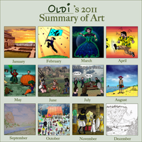 Summary of art 2011 by oldiblogg