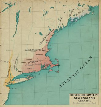 Cromwell's New England by edthomasten