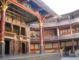 Shakespeare Globe by BabyBlueBass