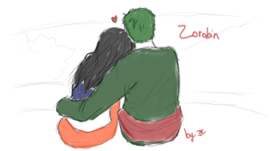 ZoRobin sketch, part two. by DoodleIara