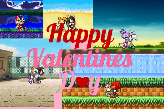 Sonic Valentine Special by sonicmechaomega999