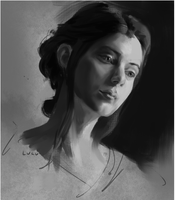 Value Study by ariellyna
