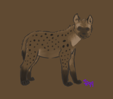 Hyena Contest Entry by sugar-hype99