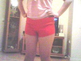 WIP - Shorts for Scarlet X by SafiBear