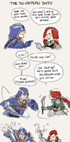 [LoL strip] The Du Corteau Duty by zuqling