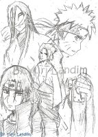 Sketch of Naruto by yurilandim