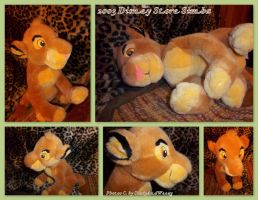 2003 Disney Store Simba Embroided Eyes by DoloAndElectrik