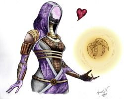 Tali and Dapper Sunshine by AureliaDominiqueVida