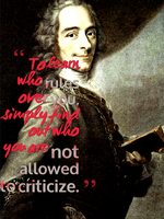 Voltaire Nuff Said by DasBishop666
