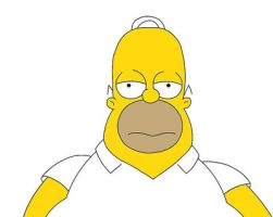 Homer Simpson - fat man by frasier-and-niles