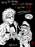 the REAL Ventriloquist by Doofapus