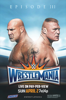 WWE Wrestlemania 33 poster by Rzr316