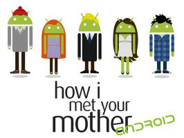 How I met your mother in Android style by NikiMolkoRamirez