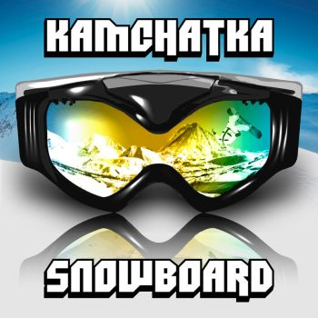 Sochi 2014 Sticker. Kamchatka snowboard. by 4MaTC