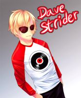 X-MAS Gift: Dave Strider by CaptainStrawberry