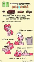 Illustrated Guide to Brownies by DoggonePony