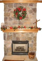 Fireplace by GreenEyezz-stock