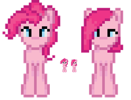 My Little Pixel Pony - Test2 by Blue-Cup