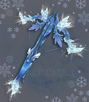 Custom Ice themed Crossbow by Forged-Artifacts