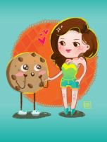 Cookie! by rianbowart