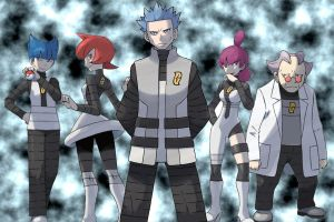 Pokemon: Team Galactic by thedarklordbee