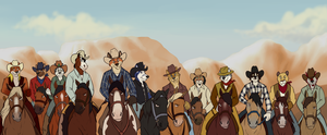 Lets rodeo! by AxelWolf04