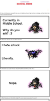 Le School Meme ~Rainiaka by Rainiaka