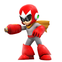 ProtoMan in Smash Style? by Nibroc-Rock