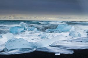 Icebergs on the Beach 3 by cwaddell