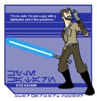 Star Wars Art: Kyle Katarn by toadcroaker
