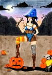 Let's kick some pumpkin butts!Happy Halloween 2014 by GiovyLoCa