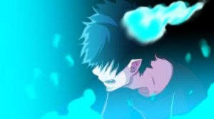 Rin Okumura Cry by Advance996
