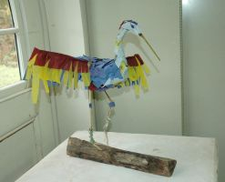 Heron Sculpture by LIV4TheObsession
