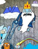 Adventure Time With... THE ICE KING! (phase four) by CharlieCharles
