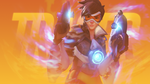 Overwatch - Tracer Wallpaper by MikoyaNx