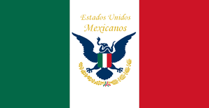 Flag of the American Protectorate of Mexico by DataPacRat