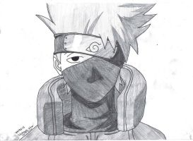 kakashi by ninja-chopsticks