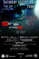 Drum N Bass Flyer by afloodiscoming