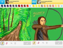 Draw Something!!! (Forrest Edition) (Day 145) by Hedwigs-art