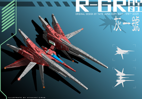 R-GRAY 01 render complete A by 4-X-S