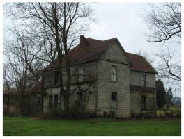 Old Farm House-Niles Ferry Rd by CrystalMarineGallery