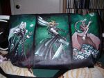 Final Fantasy VII bag-back by cstrife77